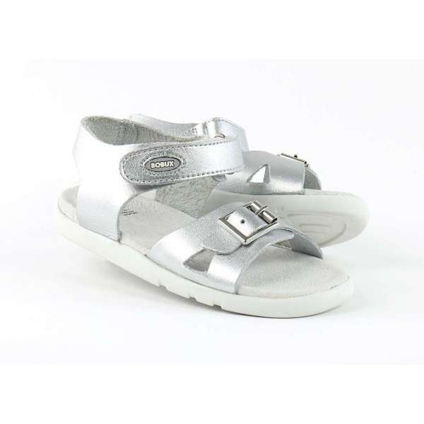 Bobux Pop Sandal Silver