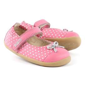 Bobux Pink Swing Ballet