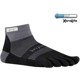Injinji Run Midweight Black