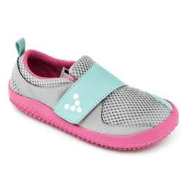 Vivobarefoot Primus Mini Grey/Pink