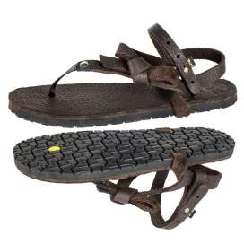 Luna Sandals Mono Chocolate