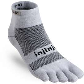 Injinji Run light Black
