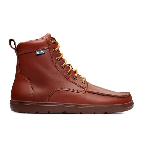 Lems Boulder Leather Russet