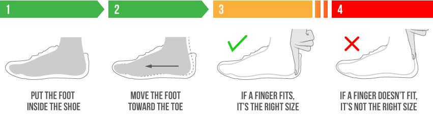 Elegir talla calzado minimalista