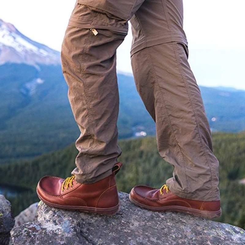 Lems Boulder Leather Russet Drop0