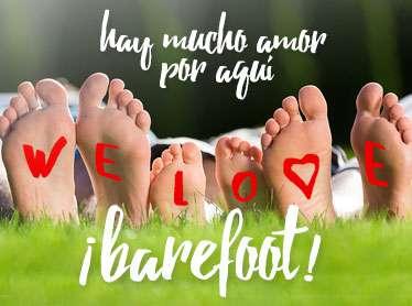 We Love Barefoot