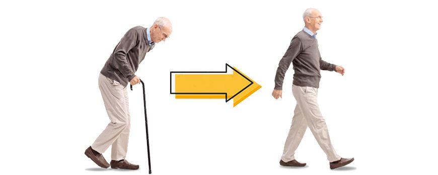 Se você não quer envelhecer, ponha o peito para fora e olhe para a frente