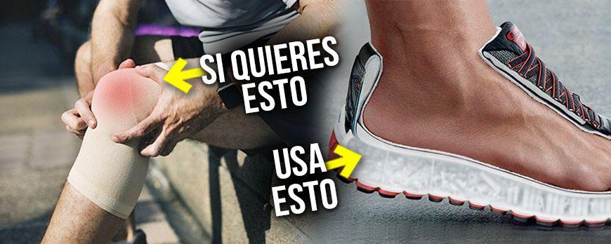 Tun Ihre Knie weh? lässt die Schuhe gepolstert