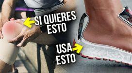 ¿Te duelen las rodillas? deja las zapatillas amortiguadas
