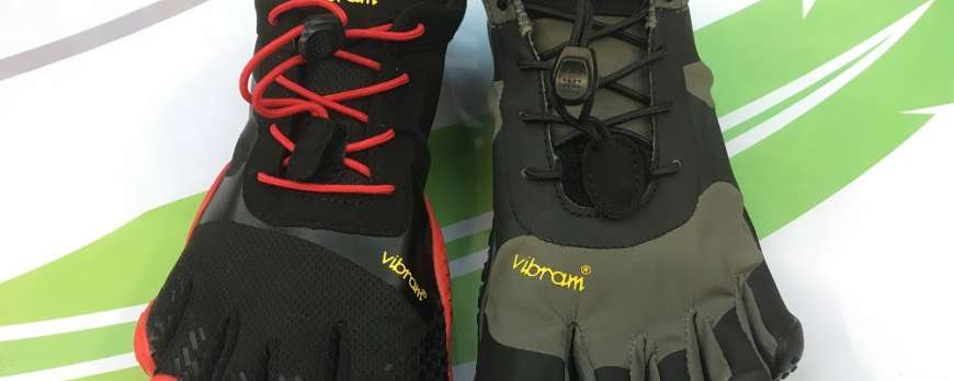 Vibram FiveFingers V-Alpha, the twin sister of the KSO EVO for training outdoor