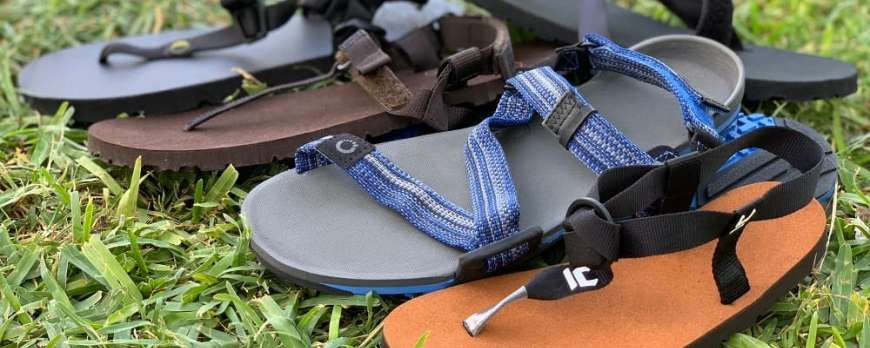 Minimalist All terrain sandals: Comparison and differences