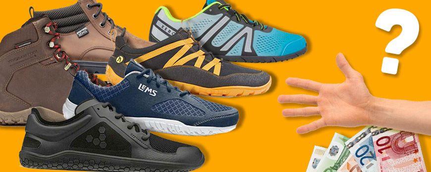 Unter uns gesagt. Warum sind minimalistische/barfüßige Schuhe so teuer?