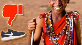 Why do Kenyan children hates the shoes?