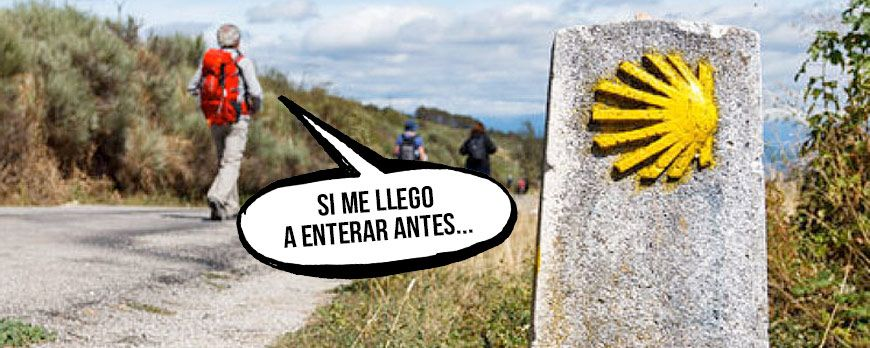 The Camino de Santiago begins at your feet